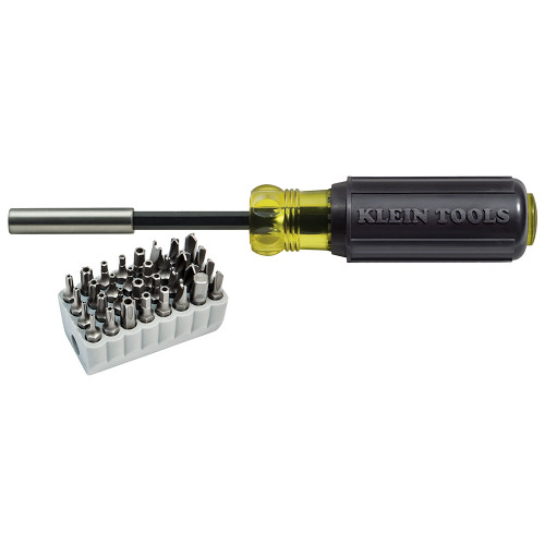 Klein Tools  32510 Tamperproof Magnetic Screwdriver 32 Bits