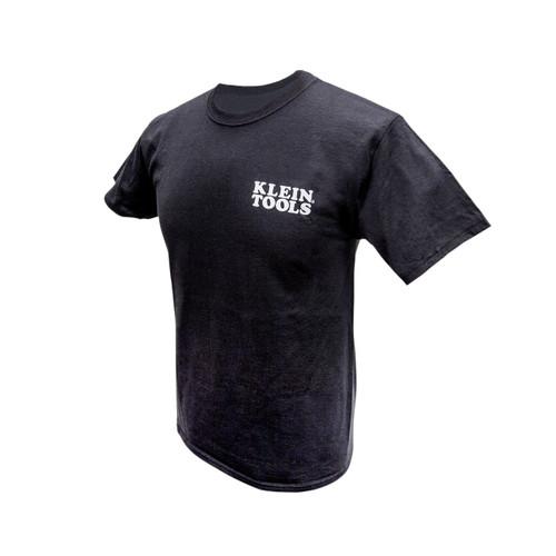 Klein Tools  MBA00044-2 Hanes Tagless T-Shirt Black, L