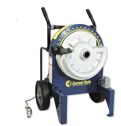 """Current Tool 77RIG Conduit Electric Bender with 700R  1/2"""" to 2"""" Rigid conduit and 1/2"""" to 1 1/4"""" IMC conduit"""