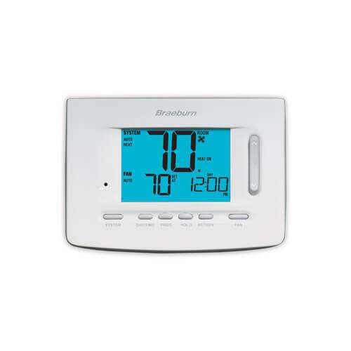 Braeburn 5220 7 Day Programmable Thermostat (3 Heat/2 Cool) - Premier Series