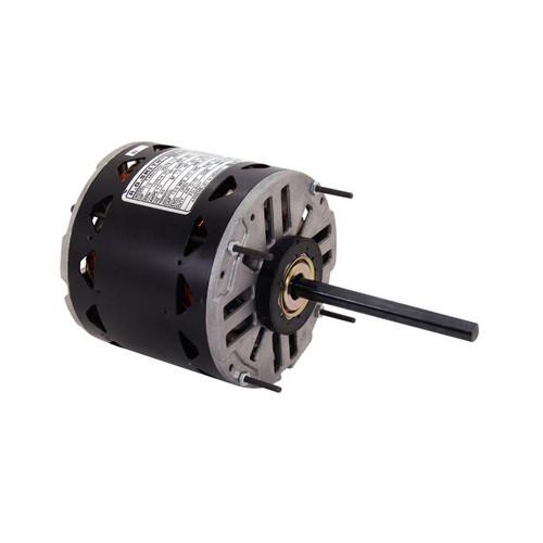 Century FDL6001A 5-5/8-inch PSC Motor, 1/2 - 1/6 HP, 1075 RPM, Reversible (115V)
