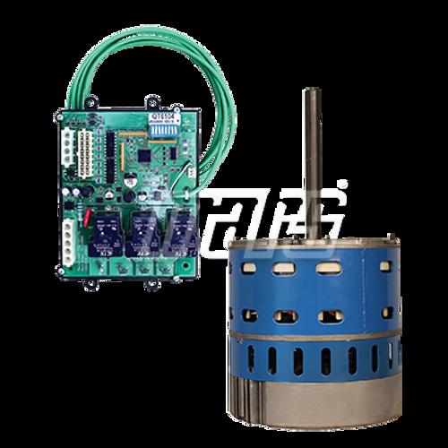Mars 10869 Azure Digi-Motor Direct Drive Motor 3/4 - 1HP 115/230 Volts includes Quick Swap Board