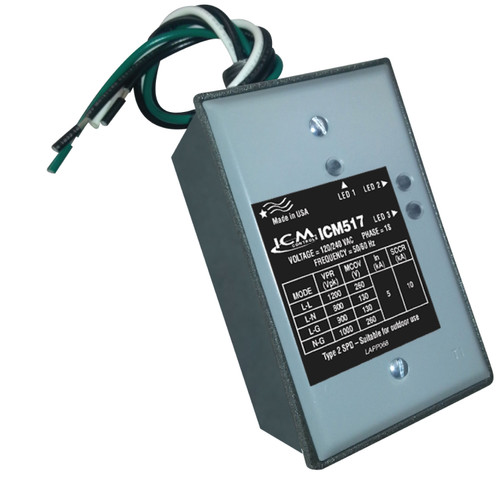 Packard ICM517 ICM Single Phase Surge Protective Device with Nema Type 3R Rated Enclosure