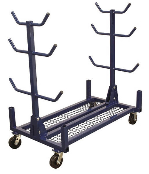 Current Tools 505M Conduit/Pipe Rack W/ Mesh Base and 1000 LB Casters Capacity