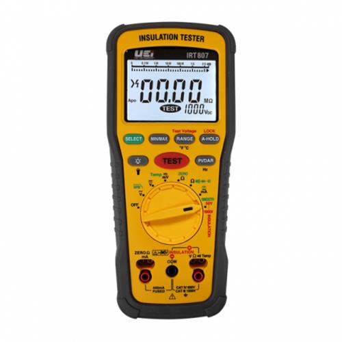 UEI IRT807 1000V AC/DC Advanced Insulation Resistance Tester