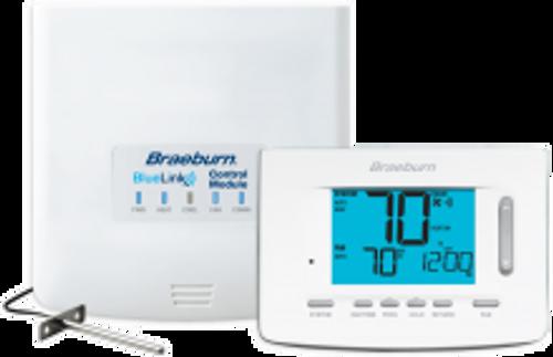 "Braeburn 7500  BlueLink Wireless Thermostat Kit, 5"" Display (3 Heat/2 Cool)"