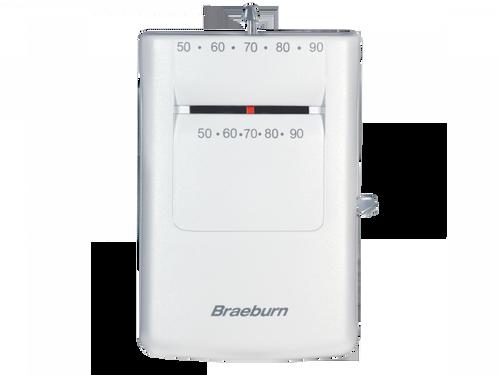 Braeburn 505  Mechanical Thermostat Heat Only (Fahrenheit)