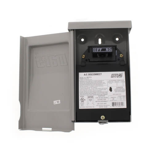Mars 83917 60A Fused A/C Disconnect w/ Side Open, Internal Surge Protector (240V)