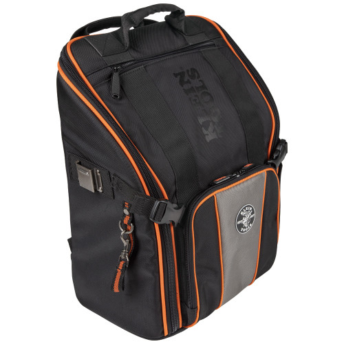 Klein Tools 55655 Tradesman Pro Tool Station Backpack with Worklight