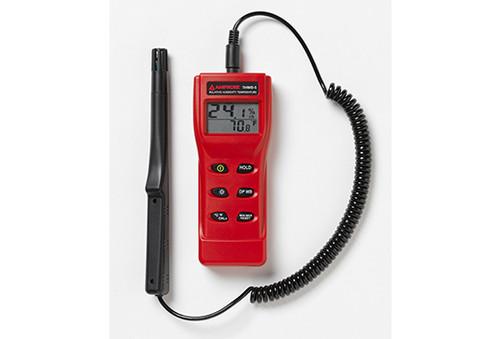 Amprobe THWD-5 Rh, Temperature, Dp, Wb W/Flex Probe Meter