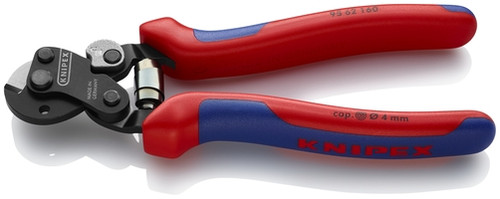Knipex 95 62 160 6 1/4'' Wire Rope Cutter