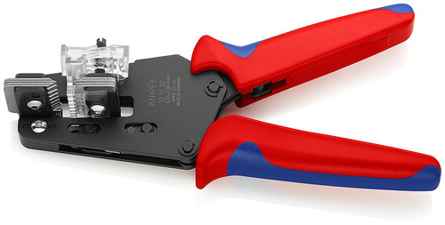 Knipex 12 12 02 Precision Insulation Stripper with shaped blades Suitable for 14 to 32 AWG