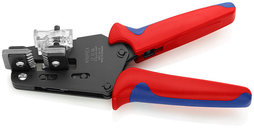 Knipex 12 12 06 Precision Insulation Stripper  with shaped blades Suitable for 10 to 26 AWG.