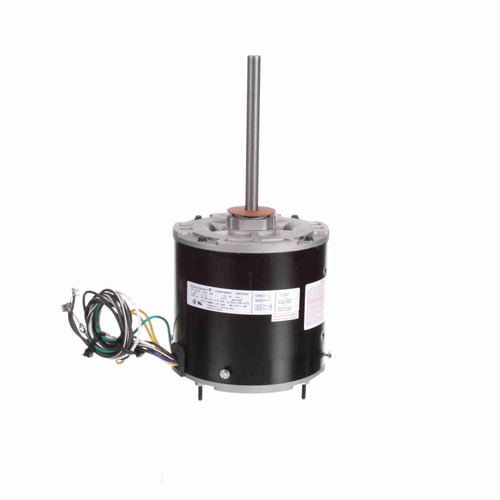 EconoMaster EM3209F 1/3-1/8 HP 70°C Condenser Fan Motor 825 RPM 460 Volts 48 Frame Replaces Century ORM4688BF