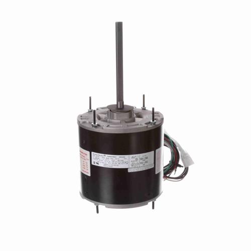 Economaster EM3469 1/3-1/5 HP 60°C Condenser Fan Motor 825 RPM 2 Speed 208-230 Volts 48 Frame
