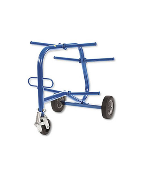 """Current Tools  502 Turtle Cart holds 6-2,500' spools up to 18"""" diameter"""