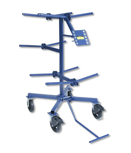 """Current Tools 503 Wire Tree holds up to 10 - 2,500 ft. spools of wire up to 18"""" in diameter"""