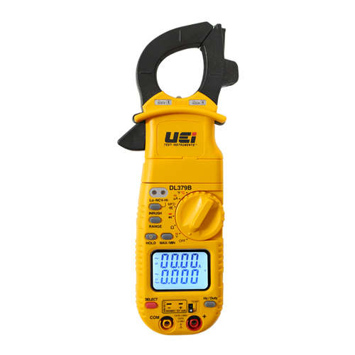 UEI DL379B  Digital HVAC Clamp Meter w/ CATIV 300V