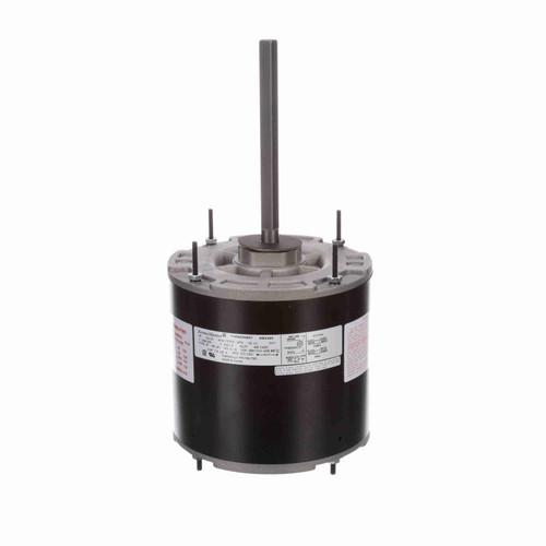 Economaster EM3465 1/3-1/5 HP 60°C Condenser Fan Motor 1075 RPM 2 Speed 208-230 Volts 48 Frame Replaces genteq 3465