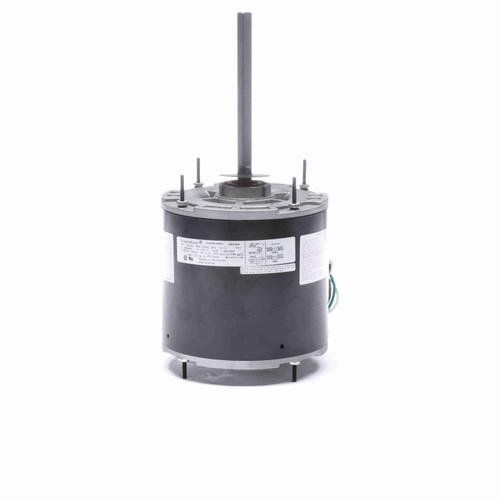 Economaster EM3468 1/2-1/4 HP 60°C Condenser Fan Motor 1075 RPM 2 Speed 208-230 Volts 48 Frame