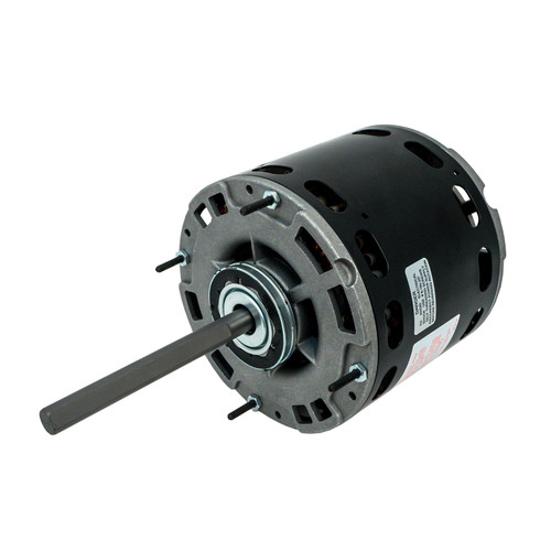 Packard 45461 1/2-1/6 HP 40°C Condenser Fan Motor 1075 RPM 4 Speed 208-230 Volts 48 Frame Replaces genteq 3464