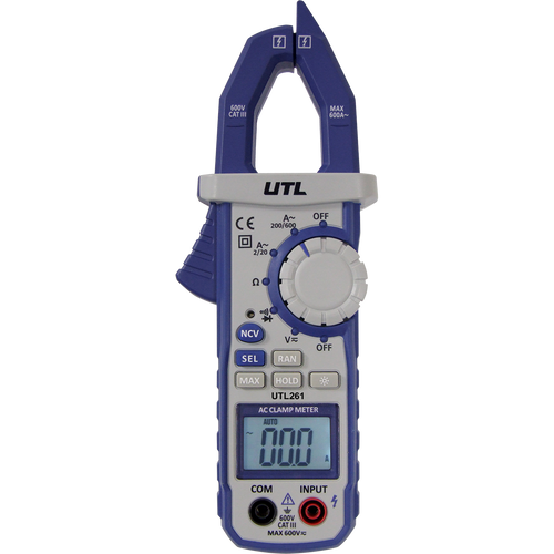 UEI UTL261 CATIII Digital Clamp Meter