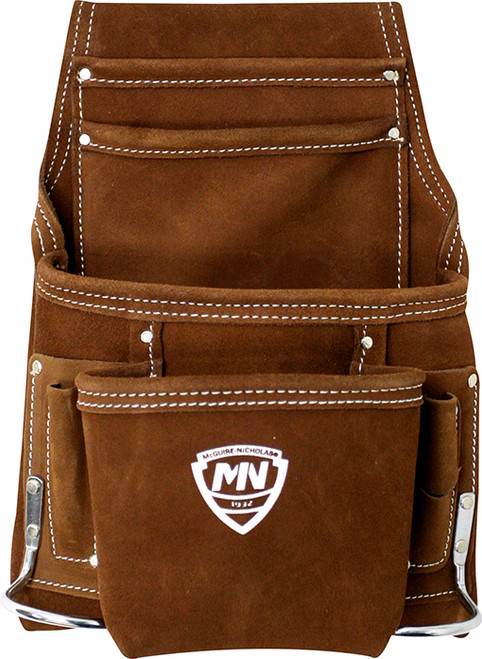 McGuire Nicholas 1DM-688-SC-2 Suede Leather Nail and Tool Pouch