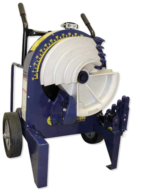 """Current Tools 77SP Series Electric Bender with 700SP PVC Coated Rigid Shoe Group 1/2"""" TO 2"""" Shoes and Storage Box"""