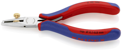 Knipex 11 92 140 5 1/2'' End-Type Wire Stripper-Electronics-Comfort Grip