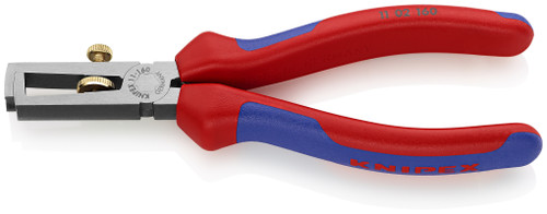 Knipex 11 02 160 6 1/4'' End-Type Wire Stripper-Comfort Grip