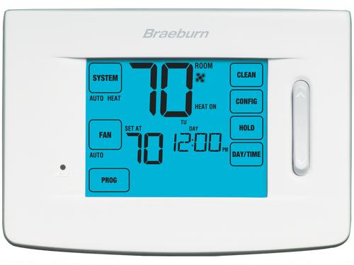 Braeburn 5310 Premier Touchscreen Universal Thermostat 7 Day 5-2 Day or Non-Programmable  1 Heat/1 Cool