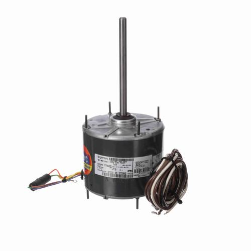 Genteq 3728HS 1/4 HP Condenser Fan Motor, 1075 RPM, 208-230 Volts, 48 Frame, TEAO
