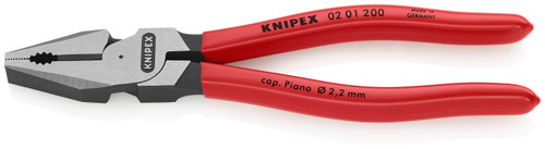Knipex 02 01 200 8'' High Leverage Combination Pliers