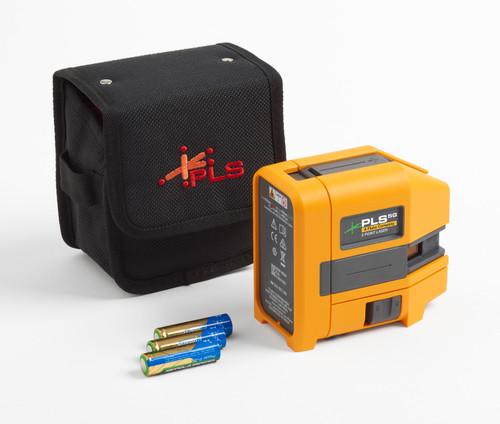 PLS 3R KIT Red Three-Point Laser Level Kit