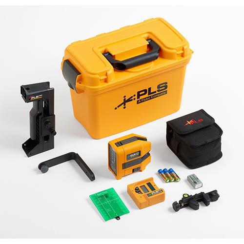 PLS 180G SYS Self-Leveling Cross Line Green Laser Level System