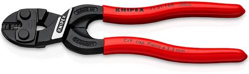 """Knipex 71 31 160 6 1/4"""" CoBolt S Compact Bolt Cutter w/Notched Blade"""