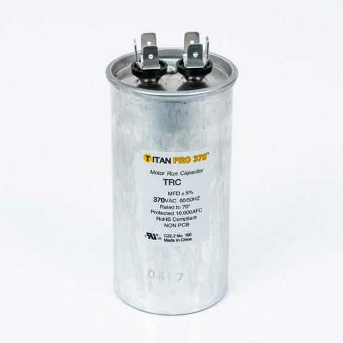 Packard TRC80 TITAN PRO Run Capacitor 80 MFD 370 Volt Round Replaces 12899