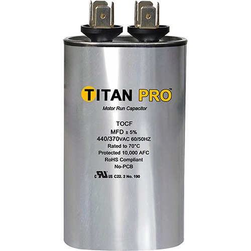 Packard TOCF35 Titan Pro Run 35 MFD 440/370 Volt Oval Replaces 12943