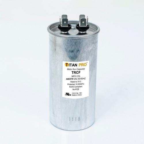 Packard TRCF50 Titan Pro Run 50 MFD 440/370 Volt Round Replaces 12725