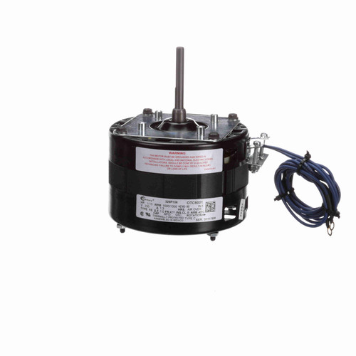 Century OTC6001 1/15 HP OEM Replacement Motor, 1500/1300 RPM, 230 Volts, 42 Frame, OAO