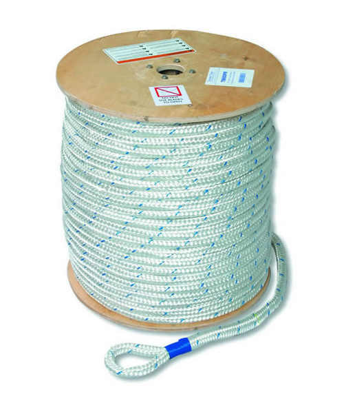 "Current Tools 916300PR  9/16"" x 300' Double Braided Composite Pulling Rope 16,000 lbs Rated"