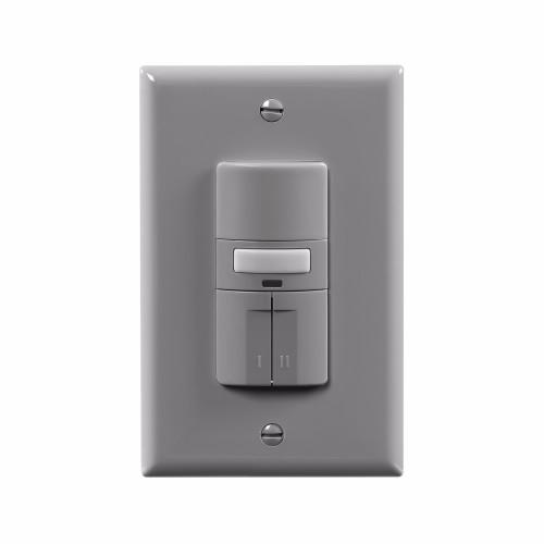 Eaton  OS310R-GY Grey Occupancy Sensor Dual Switch with Nightlight