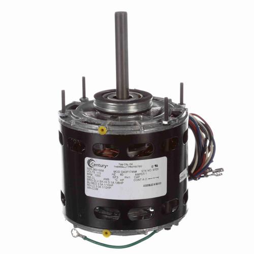 Century 9703 1/20 HP 1/8-1/10-1/12 HP Fan & Blower Motor 1050 RPM, 3 Speed, 115 Volts, 42 Frame