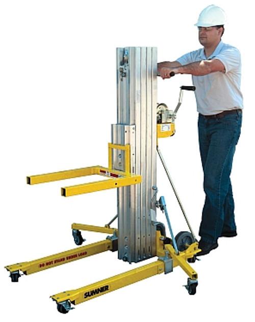 Sumner 2416 Contractor Lift 16' Lift 450 Lb Capacity