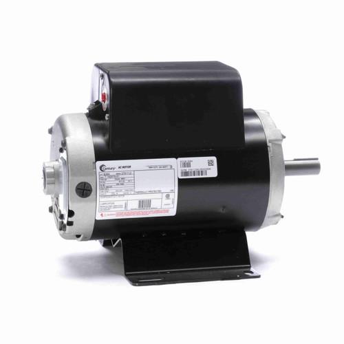 Century B384 Air Compressor Motor 3600 RPM 208-230 Volts 1 phase 56Y Frame