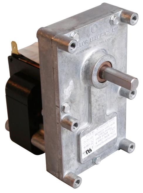 Rotom HM-RGM451 1 RPM Pellet Stove Auger Motor