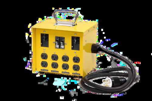 CEP 6503GU Input 30A 125/250V (L14-30)/Output20A 125V (5-20R) Duplex GFCI Mini Box