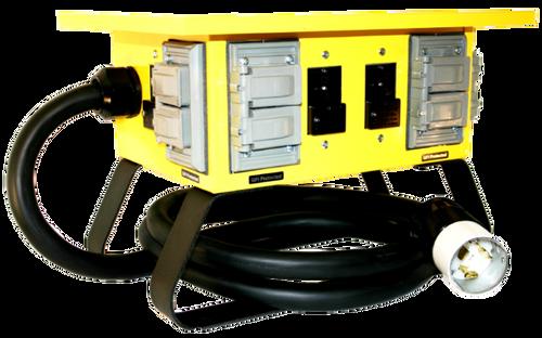 CEP 6508GU Input 50A 125/250V (CS6365)/Output 4-20A 125V Duplex (5-20R)