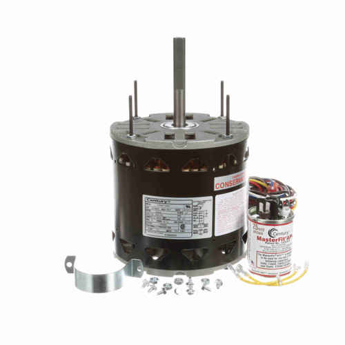 Century FD6002A 1/8 to 1/3 HP 825 RPM 208-230 Volt MasterFit Pro Motor Replaces Emerson 5459