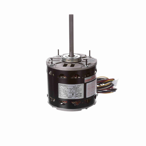 Century FD6001 1/5 to 3/4 HP 1075 RPM 277 Volt MasterFit Pro Motor Replaces Emerson 5471